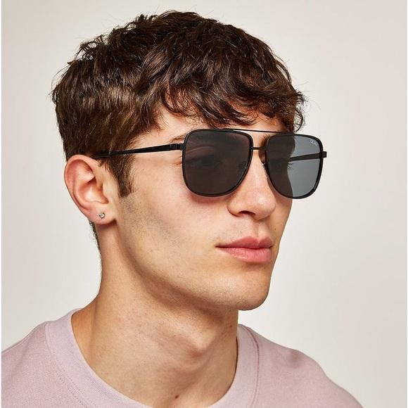 Quay Men/'s Modern Times Sunglasses